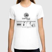 dragon ball T-shirts featuring Manga, Dragon Ball, Capsule Corp instruction by Babylon ART