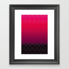 ELENA PATTERN - FLAMENCO VERSION Framed Art Print