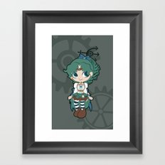 Steampunk Sailor Neptune - Sailor Moon Framed Art Print