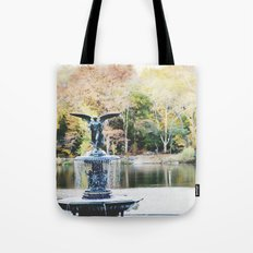 autumn in new york Tote Bag