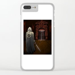 Slayer of Devils Clear iPhone Case