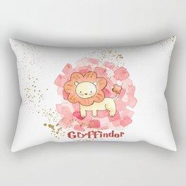 Gryffindor - H a r r y P o t t e r inspired Rectangular Pillow