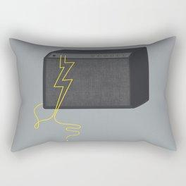 Electric/Acoustic Lightning Rectangular Pillow