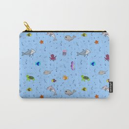 Sea creature pattern Carry-All Pouch