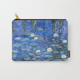 waterlilies a la Monet Carry-All Pouch