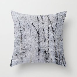 Cottonwood Frost Throw Pillow
