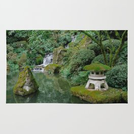 Zen, Peaceful, Relaxing Japanese Gardens in Portland, Oregon Rug