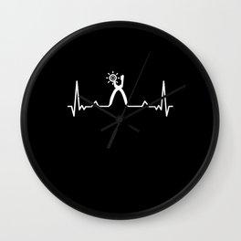 Shoe maker Cordwainer Heartbeat Gift Wall Clock