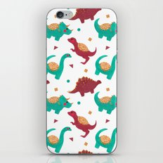 The Dinosaurs Pattern iPhone & iPod Skin