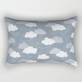 RAIN CLOUDS Rectangular Pillow