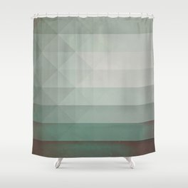 dryry ytyrnyl Shower Curtain