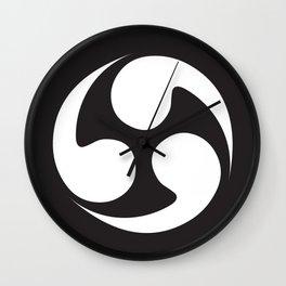 Japanese curve Wall Clock