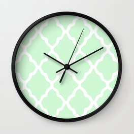 White Rombs #12 The Best Wallpaper Wall Clock