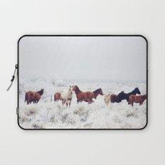 Winter Horseland Laptop Sleeve