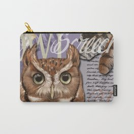 The Screech Owl Journal Carry-All Pouch