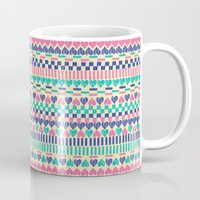 hearts Mugs featuring Hearts by Lydia Meiying