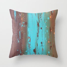 Drenched Throw Pillow
