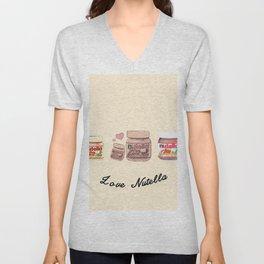 Nutella-324 Unisex V-Neck