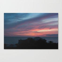 Zamora Sunset #2 Canvas Print