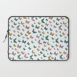 butterflies_pink Laptop Sleeve