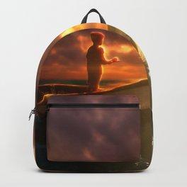 Beautiful Sunset Scenery Backpack