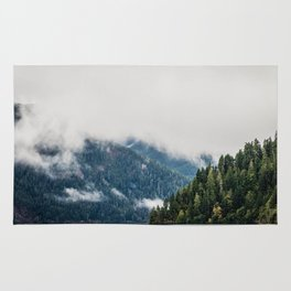 Lake Crescent, Washington Rug