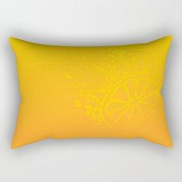 Juicy Orange V6S2 Rectangular Pillow
