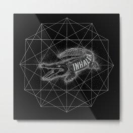 crocodinhaler Metal Print