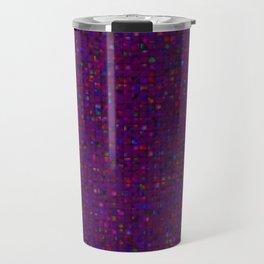 Antique Texture Plum Purple Travel Mug