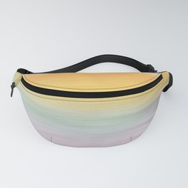 Bright Sunrise Abstract Seascape Fanny Pack