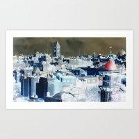 City of Jerusalem Art Print