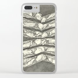 SENTIENT MEAT #2 Clear iPhone Case