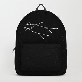 Gemini Star Sign Night Sky Backpack