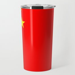 Chinese Flag Sticker & More Travel Mug
