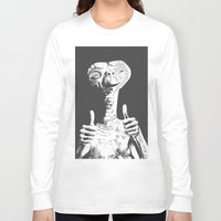 et Long Sleeve T-shirts featuring ET by danielabbart