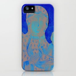 Virgin Mary Our Lady of Czestochowa Madonna and Child Jesus Religion Christmas Gift iPhone Case