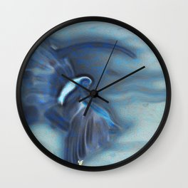 Moon Faerie Wall Clock