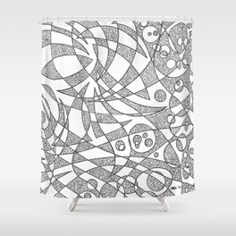 Scattered 2 Shower Curtain