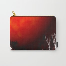 Blood Orange Moon Carry-All Pouch