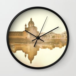 Florence Reflected Wall Clock