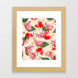 Sweet Pom #society6 #decor #buyart Framed Art Print