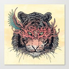 Masked Tiger Canvas Print