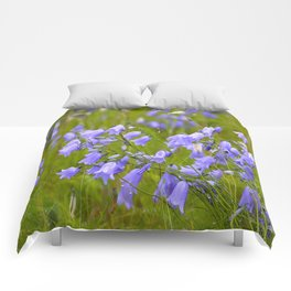 Bluebells Meadow #decor #society6 Comforters