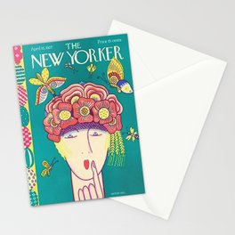 Vintage New Yorker Cover - Circa 1927 Stationery Cards