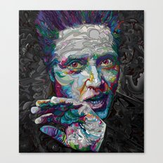 christopher walken portrait  Canvas Print