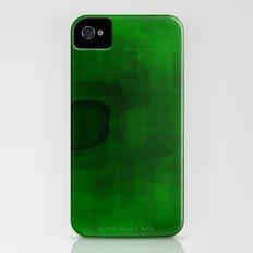 Green#3 Slim Case iPhone (4, 4s)