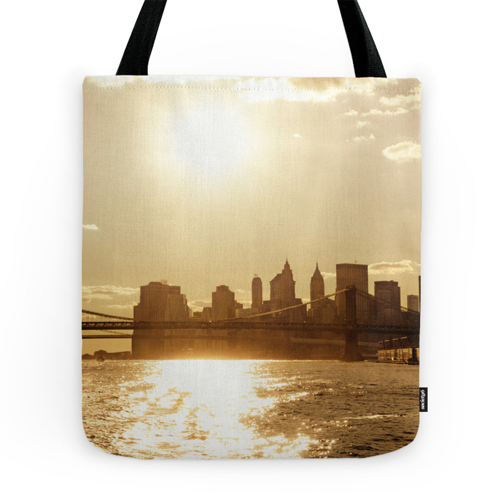 New York City Sunset Tote Purse by newyorkphotography (TBG726846) photo