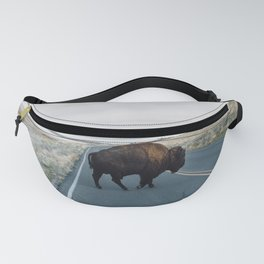 Bison Crossing Fanny Pack