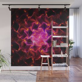 loving fire Works Wall Mural
