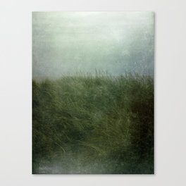 Summer Love at a Twilight Beach Canvas Print